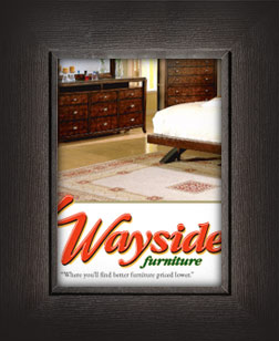 Wayside Furniture, Akron, Ohio.